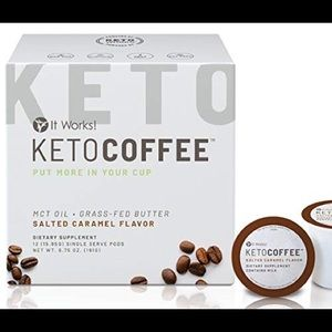 It works! Keto coffee salted caramel k pods
